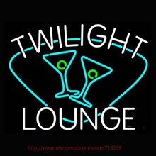 Twilight Lounge With Glass Neon Sign Neon Bulbs Led Signs Real Glass Tube Recreation Room Restaurant Hotel Store Display 31x24
