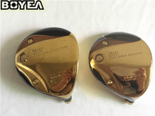 Brand New Gold Boyea GIII LS-718 Fairway Woods Golf Fairway Woods Golf Clubs #3/#5 R/S-Flex Graphite Shaft Come With HeadCover