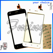 Touchscreen front glass parts For Fly FS454 nimbus 8 FS 454 Sensor Touch screen Digitizer replacement With Tracking Number+tape