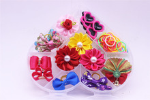 PVC box  dog hair bows supplies Cute Bowknot many Styles boys  girls pet dog  accessories Pet Dog Hair Bows pets Grooming Charms