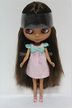 Special Design Blyth, Tan Skin Nude Dolls Neo Doll For Baby DIY Toy And Girls Gifts(Suitable For Blyth,BJD)