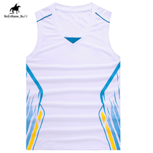 2017 Summer Men's Sports Clothing Polyester Sleeveless Breathable Quick Dry Basketball Sports Tops Clothing  Latest Size 5XL 28