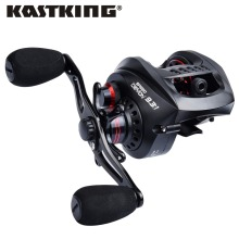 KastKing Speed Demon 9.3:1 super high speed gear ratio Baitcasting Reel 6KG/13.2LB 13BBs Magnetic Brake System Fishing Reel(United States)
