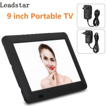 LEADSTAR 9 Inches ISDB DVB-T2 DVB-T TV Rechargeable Digital Color TV Television Player TFT-LED Screen Digital Analog Television(China)