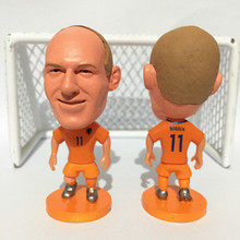 Soccerwe Stand 11 Robben Doll Holland 2017 Orange Kit(China)