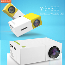 Probable Mini Projectors YG 300/YG 310 LCD Projector HD Home Media Player Support HDMI AV SD Theatre Movie Support HDMI AV SD