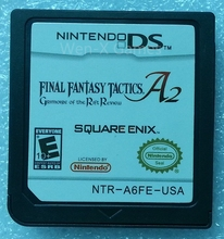 Nintendo NDS Game Final Fantasy Tactics A2 Grimoire of the Rift Video Game Cartridge Console Card English Language USA Version(China)