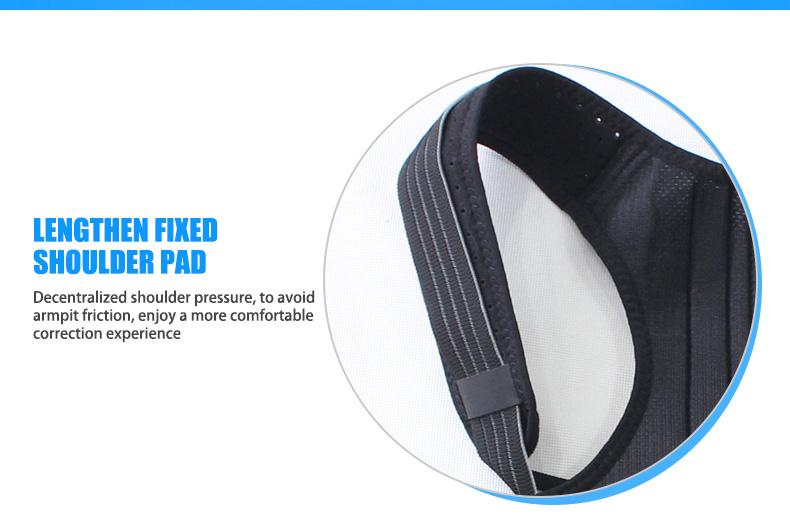OPER adjustable Shoulder back belt posture corrector back support brace Posture belt Back Brace rectify health care   (1)