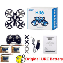 Mini Drone JJRC H36 RC Quadcopter 6-Axis RC Helicopter Headless Quadrocopter Toys For Children VS JJRC H8 Mini H20 e010(China)