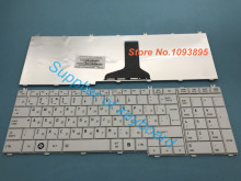 New Russian keyboard for Toshiba Satellite C650 C655 C655D C660 L650 L655 L670 L675 L750 L755 White laptop Russian keyboard(China)