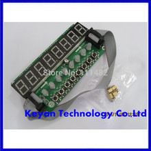 F71A 8* Digital Tube + 8* Key + 8* Double Color LED Module TM1638 Can be Cascaded Replace CH452 / MAX7219    Integrated Circuits