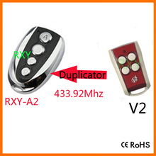 duplicator 433.92mhz rolling code remote control for v2