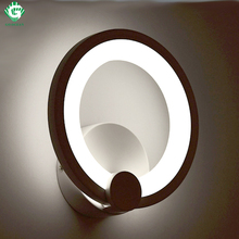 GO OCEAN Wall Lamps Sconce Loft Aluminum Plated Bathroom Light Modern Crystal Wall Lamp Bedroom Bedside LED Wall Light(China)
