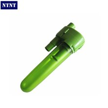 NTNT Free Post New 2L ABS vacuum cleaner parts external cyclone dust cyclone filter housings green Gray color