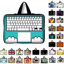 10 11.6 13 13.3 14 15 15.6 17 17.3 Inch Keyboard print Laptop sleeve Notebook Bag Case Messenger PC Handbag for ipad macbook HP
