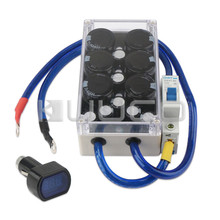 DC Boost Power Supply Module Car Electronic Rectifier Car Capacitor Regulator Fuel Filter Automotive Electrical Equipment