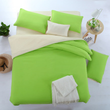 12 Solid Color Bedding Sets 3pcs/4pcs Duvet Cover Flat Sheet Pillowcase Cheap Retail Wholesale Twin Full Queen King