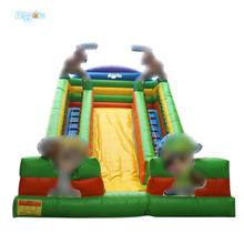 Free Shipping Cartoon Inflatable Best Popular Kids Inflatable Jumping Castle Slide Inflatable Slide