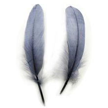 500pcs/lot!15-20cm long gray Goose Feathers,Hat Trimming,Feathers for Millinery,Fascinators&Crafts