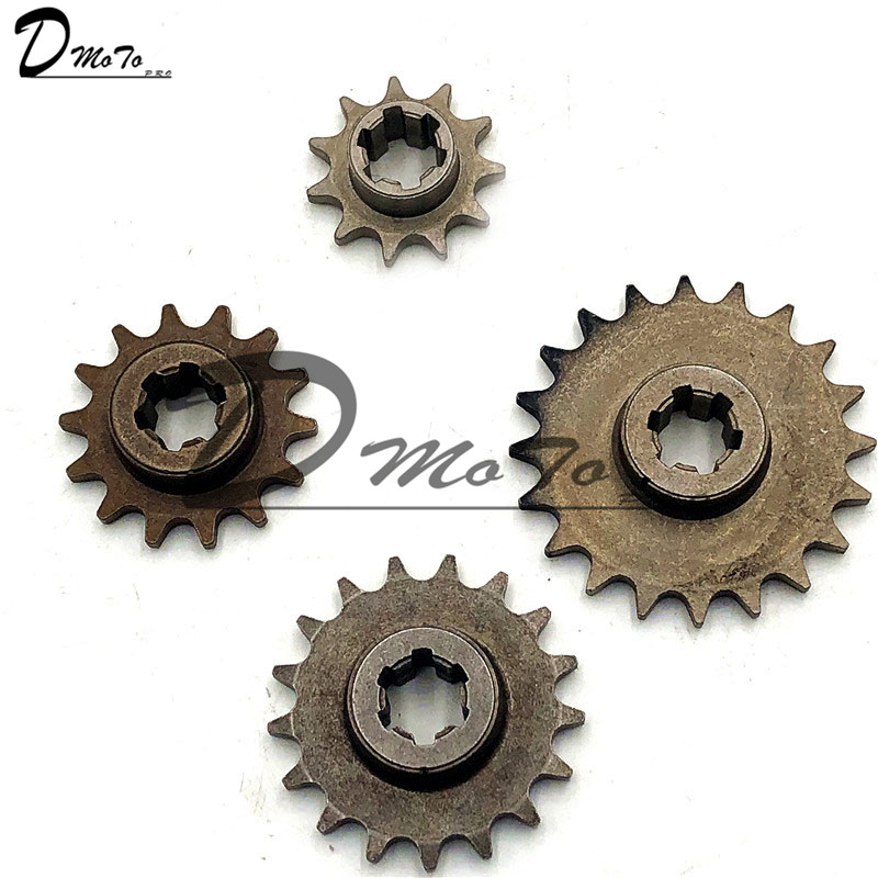 Front Gear Box Sprocket T8F 11 14 17 20T 20 Tooth Pinion For 47cc 49cc Minimoto Mini Dirt Pit Bike Moped Scooter