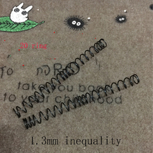 1.3mm 1.4mm unequal length gun springs, toy accessories, wave box springs, water cannon parts(China)