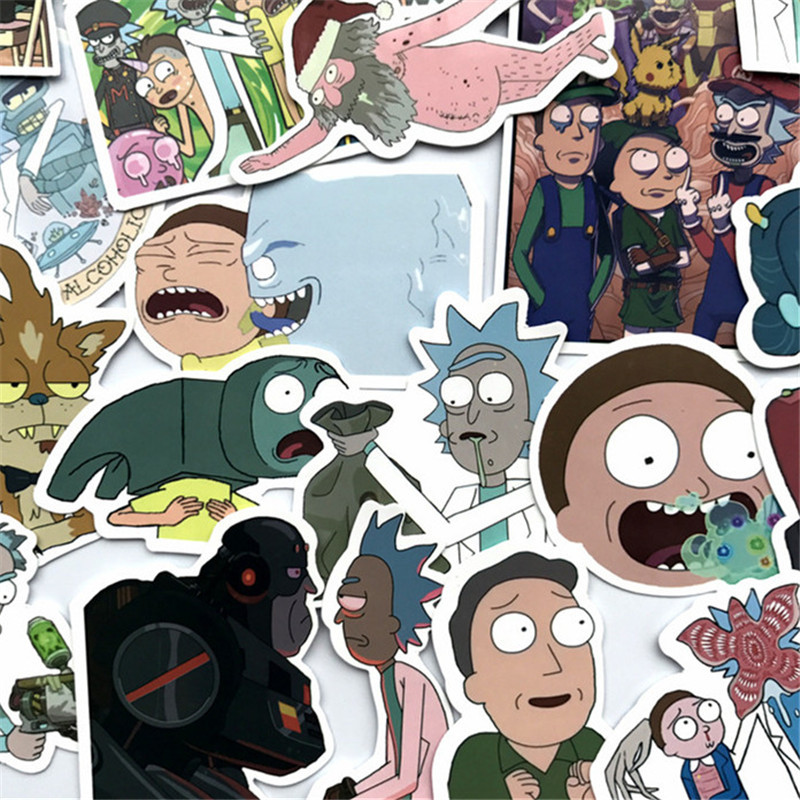 50Pcs Laptop 2020 Stickers R&M [ Pack of 3 ]