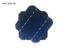 MSL SOLAR 25pcs 125mm*125mm 17.6% solar cell 5x5 Grade A monocrystalline silicon cells for diy 12V solar panel.Free shipping(China)