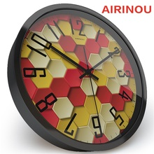 Airinou Classic Cellular Memory Creative Design Wall clock, Advertising Agency Company Watch Clock(China)
