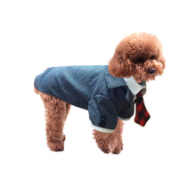 New Arrival Plaid Style Pet Dogs Suit Coat Small Puppy Dogs Clothes New Clothing For Dog(China)