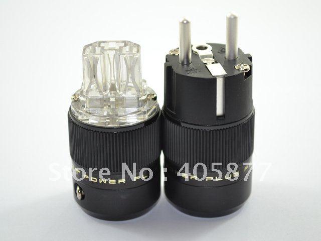 High End SONAR Silver Plated  European AC  power jack +IEC power connector 5pairs<br><br>Aliexpress