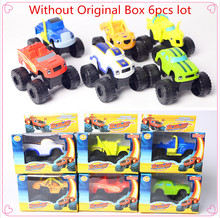 2017 Hot Learning Machines Russia blaze miracle cars toy for kids Car Toys With Original Box Kids Best Gifts