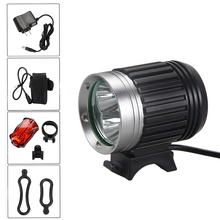 Waterproof 7500lm Headlamp 3x XML T6 Front Bike Headlight 4 Modes LED Torch Light+ 8.4v 6400mAh Battery Pack+Charger(China)