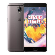 Original ONEPLUS 3T  global version 1920 x 1080P Android 6.0 OS a3003 Snapdragon 821 Smartphone 64GB ROM RO16.0MP cell phone