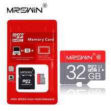 Free shipping carte sd class 10 tf card 8GB 16GB 32GB 64GB 128GB micro sd card Microsd 4GB class 6 Memory Card with free adapter(China)
