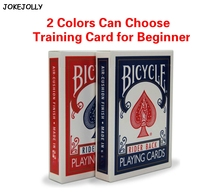 1 piece Bicycle Poker Blue/Red Standard Bicycle Playing Cards Magic Tricks MADE IN CHINA Training Poker Card for begainner GYH
