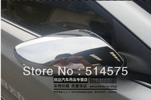 for  Hyundai Elantra 2012  2013 ABS  Chrome Car Door Side Mirror Cover/Rearview Side Door Mirrors Cover Trim 2pcs