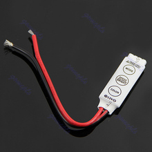LED 3/24/44 Keys IR Remote Controller Wireless For 3528 5050 RGB SMD  Strips New