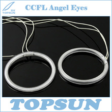 Free Shipping 68.5mm, 80mm, 95mm CCFL Angel Eyes and Driver for projector lens, cold cathode fluorescent lamp 6 colors available