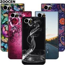 ZOOCEN Black Case for Blackberry Keyone Fashion keyone Back Flip Cover for black berry keyone dtek70 Soft TPU Mobile Phone case