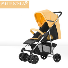 Baby Stroller Portable Folding Umbrella Car Can Sit And Lie(China)