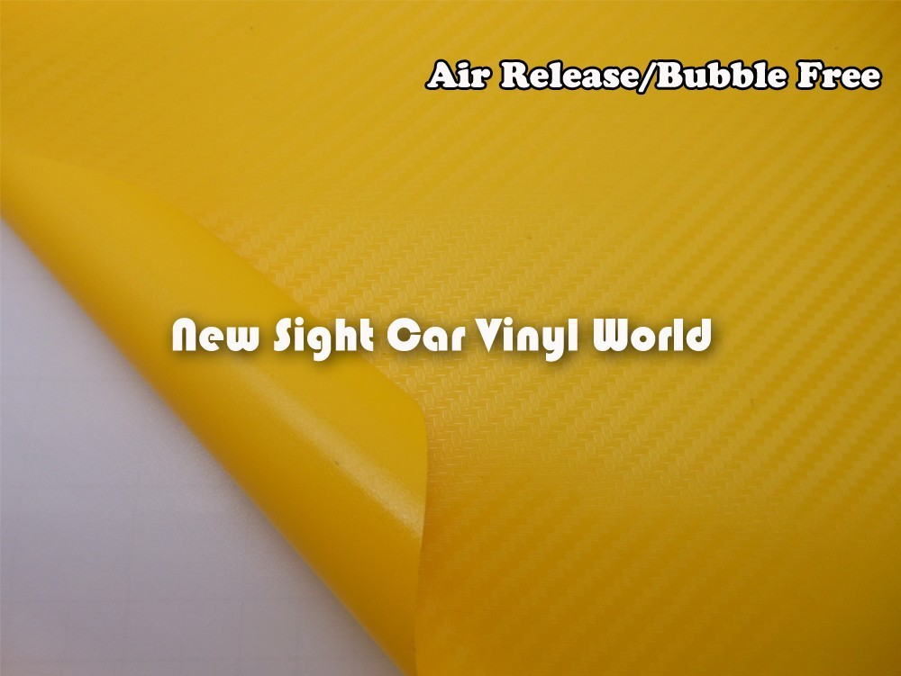 High-Quality-Yellow-Carbon-Fiber-Vinyl-Wrap-04
