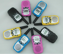 FREE Shipping 0.5W FRS Walkie Talkie T388 with 3km range for family