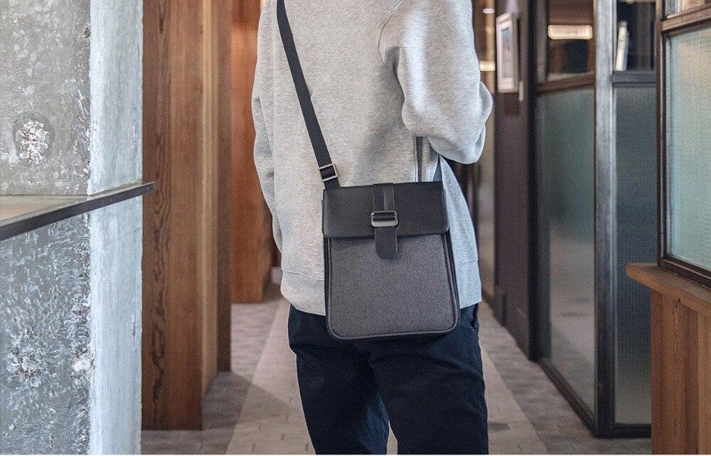 Xiaomi Fashion Commuting Waterproof backpack Removable Front Bag Big Capacity men backpacks travel backpack Laptop Bag male H0 (32)