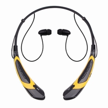 Aihontai Sport headphone Stereo Bluetooth Headset Wireless Handfree Neckband Earphone For iphone 5s 5C 6 6S Samsung HTC Google