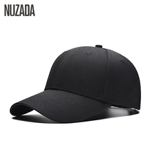Brand NUZADA Snapback Baseball Caps For Women Men Couple Hip Hop Hats Simple 8 Colors Double Layer Bone Cotton Cap Summer