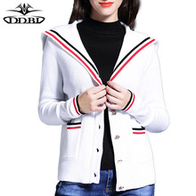 womens sweaters 2017 female sweater winter clothes women navy fashion women's cardigan white sweaters 170819(China)