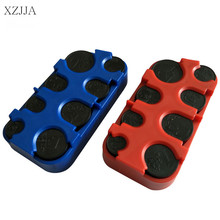 XZJJA Auto On-board Euro Dollar Coin Piggy Bank Coins Box Dispenser Purse Holders Car Coin Pocket Cases Organizer High Quality