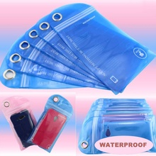 5 pcs Swimming Surfing Waterproof Bag Outdoor Rafting Drifting Phone Card Dry Bag for Cellphone Mobile Phone ID Card(China)