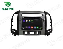 Quad Core 1024*600 Android 5.1 Car DVD GPS Navigation Player for Hyundai Santa Fe 2012 Radio Wifi/3G steering wheel control