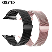 Strap For Apple Watch band apple watch 4 3 iwatch band 42mm 38mm correa 44mm 40mm Accessories Milanese loop pulseira Bracelet(China)